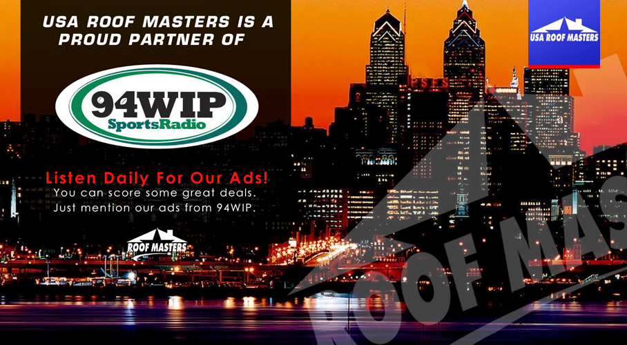 WIP roofing promotions in Philly for best roofing contractors   USA ROOF MASTERS